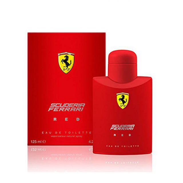 Ferrari Scuderia Red EDT for Men 125 ml
