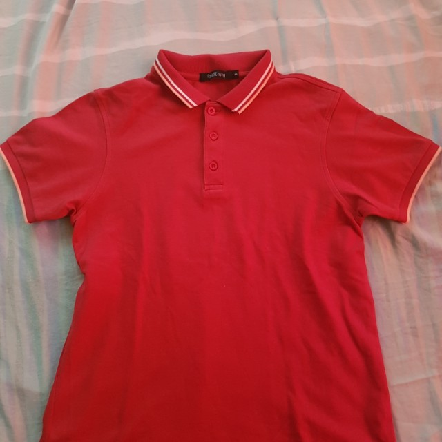 F&H polo shirt pink (Meduim size)