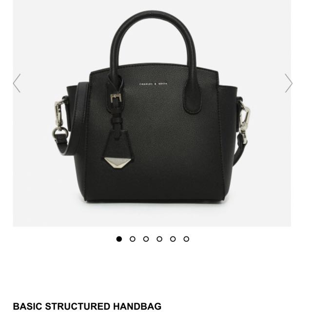 FINDING C&K BASIC STRUCTURED HANDBAG