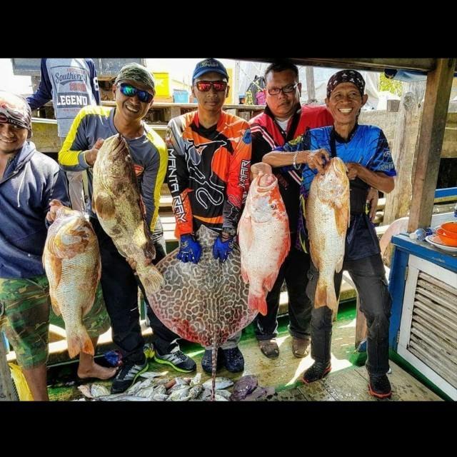 Fishing trip to Pulau Buaye