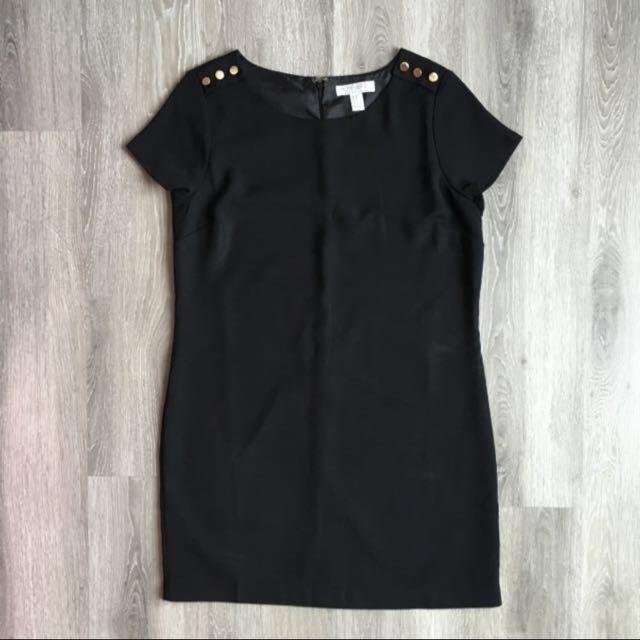 📮Forever 21 Black OL Dress