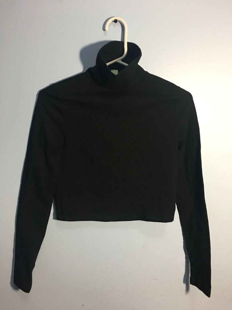 Forever XXI Turtleneck Crop Top