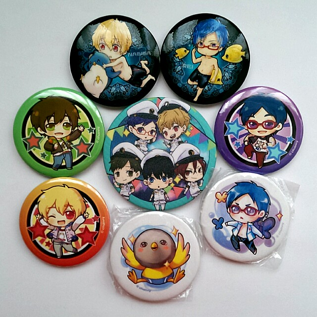 Free! Button Badges & Charms + Free Bookmarks #Bajet20