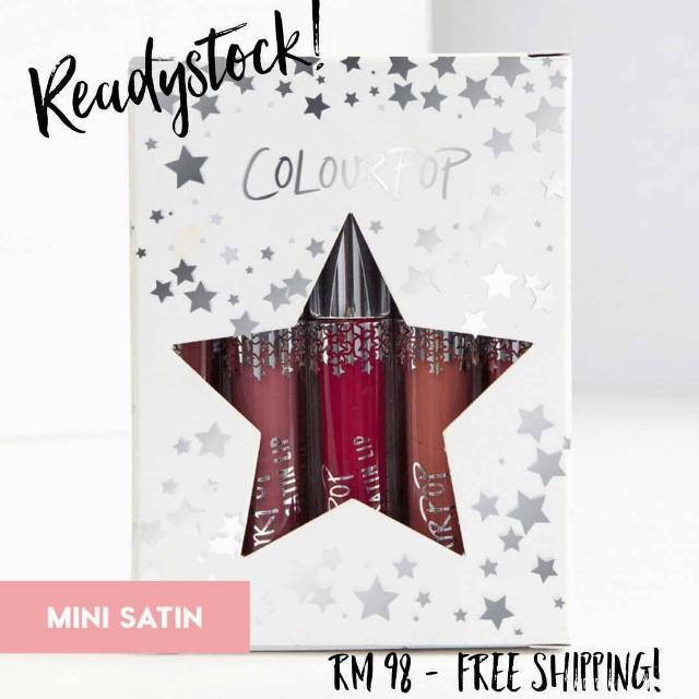 (FREE SHIPPING) Readystock COLOURPOP It's Complicated Mini Lip Kit