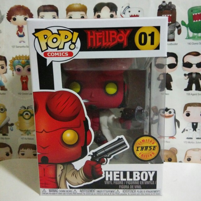 Funko Pop Hellboy Horns Chase Vinyl Figure Collectible Toy Gift Movie Comic