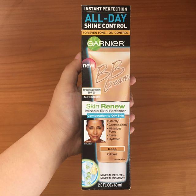 Garnier Skin Renew Miracle Skin Perfector BB Cream for Comination to Oily Skin (Deep)