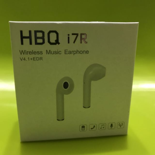 HBQ i7R白色藍芽耳機
