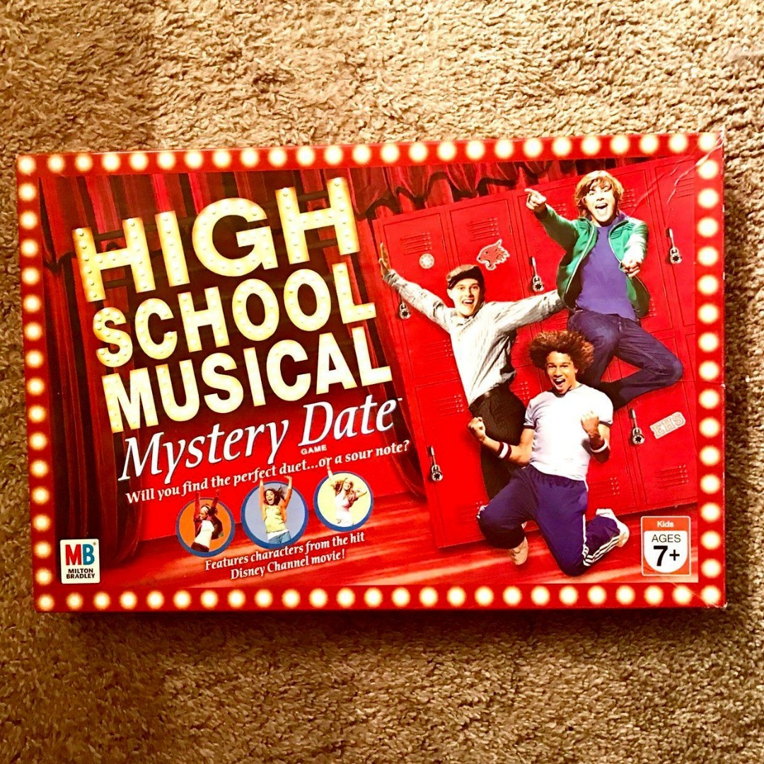 High School Musical Mystery Date Board Game on Carousell