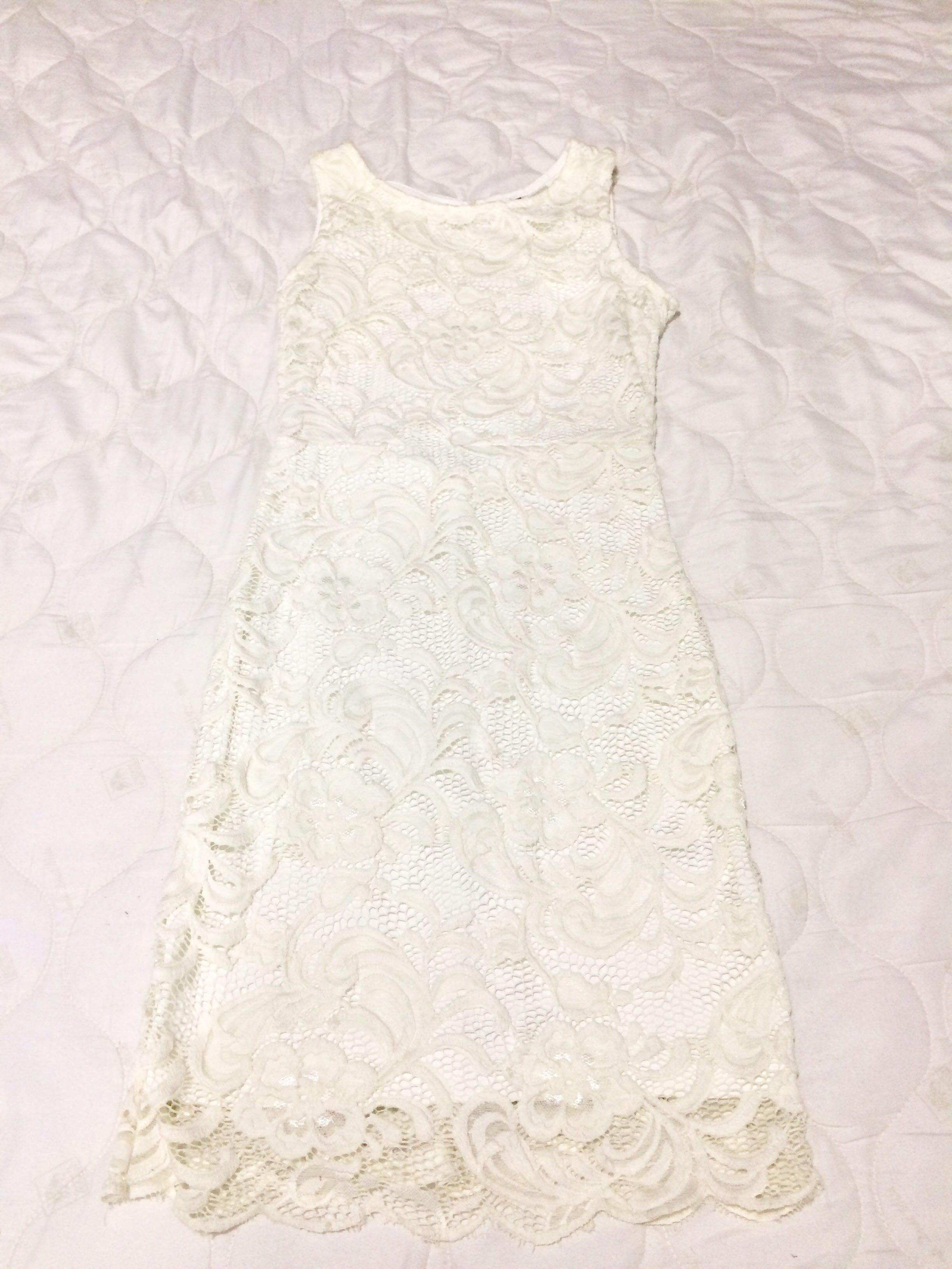 H&M Lace Bare back Dress