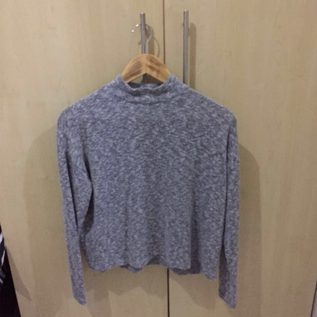 H&M Mock Turtle Neck Top