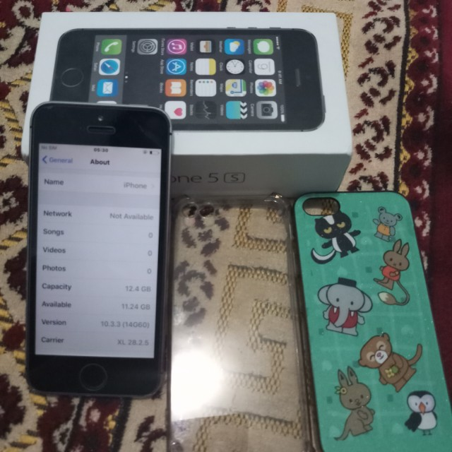 Iphone 5S - 16gg silver