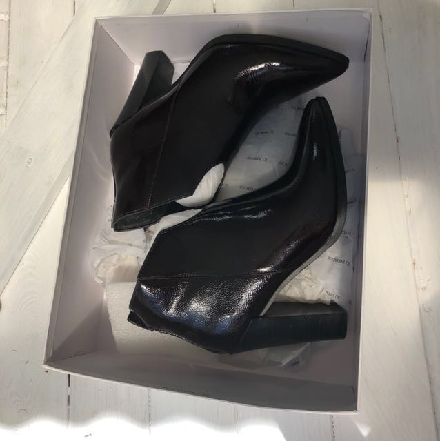 Jo Mercer Burgundy ankle boots size 37 / 6
