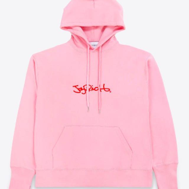 Joyrich/market logo hoodie(pink)