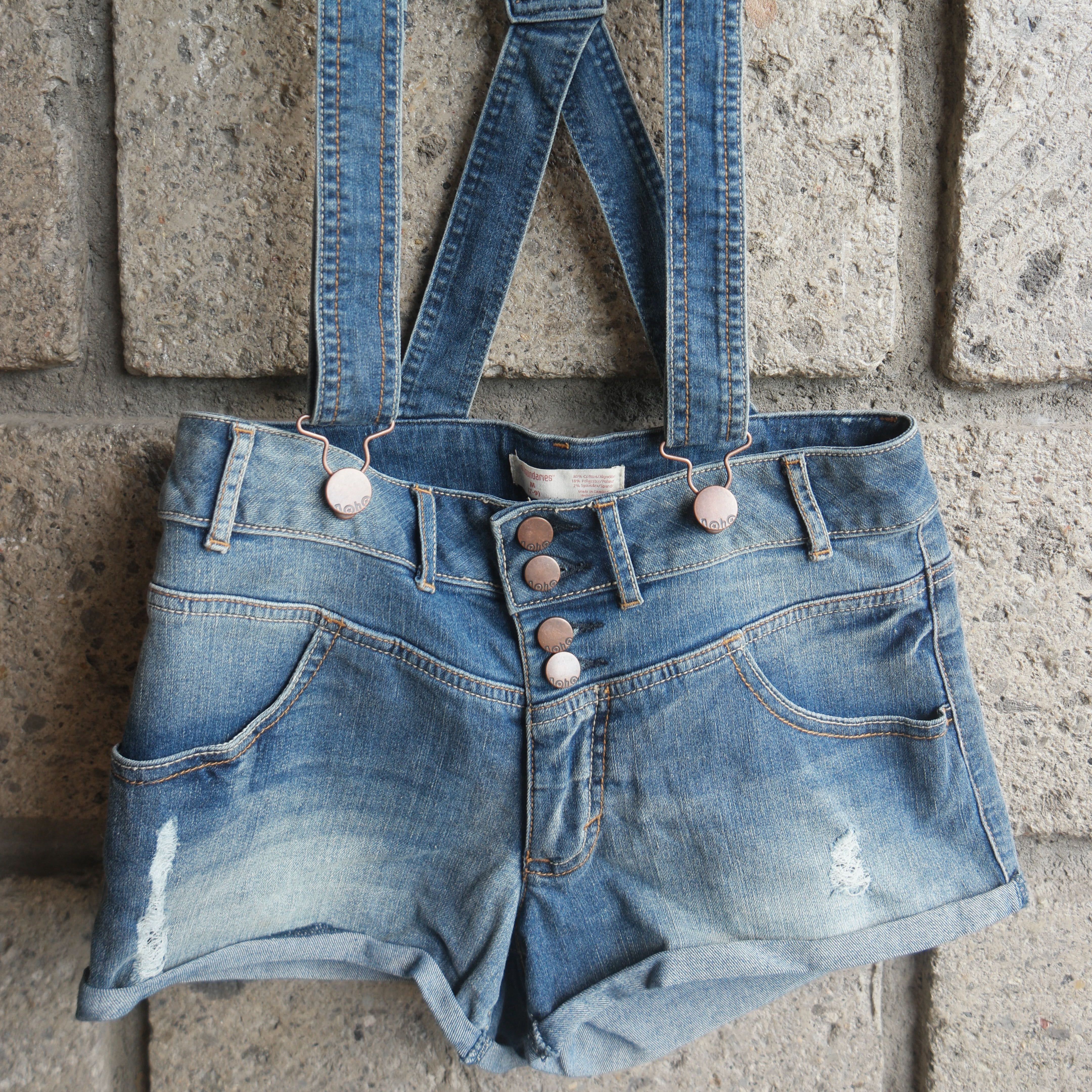 Jumper Denim Shorts