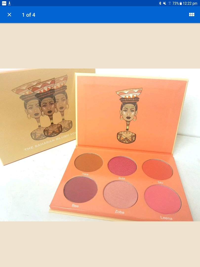 Juvia's Place Saharan Blush Vol II