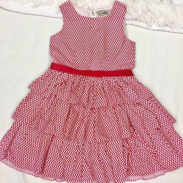 Kiddos Rustan's Red Dress