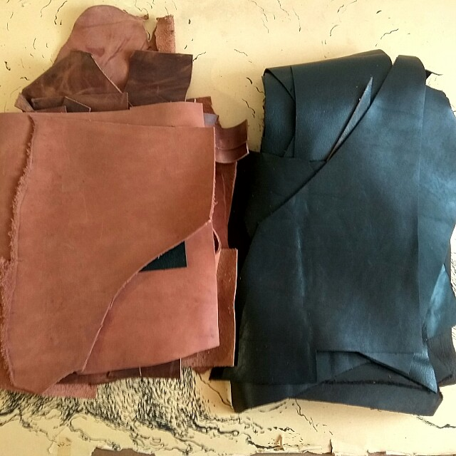 Leather Piece for Handmade *only 1Pack