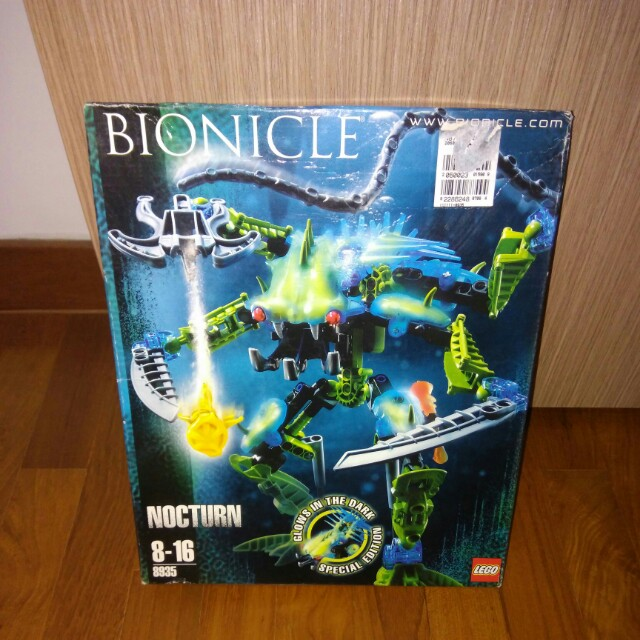 Lego Bionicle Nocturn 8935 Rare Toys Games Bricks Figurines On