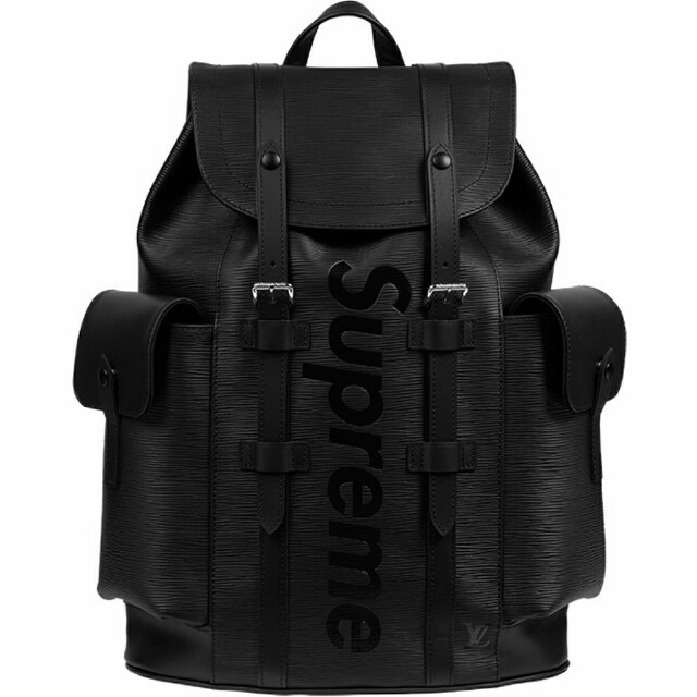 Louis Vuitton Supreme Black Backpack