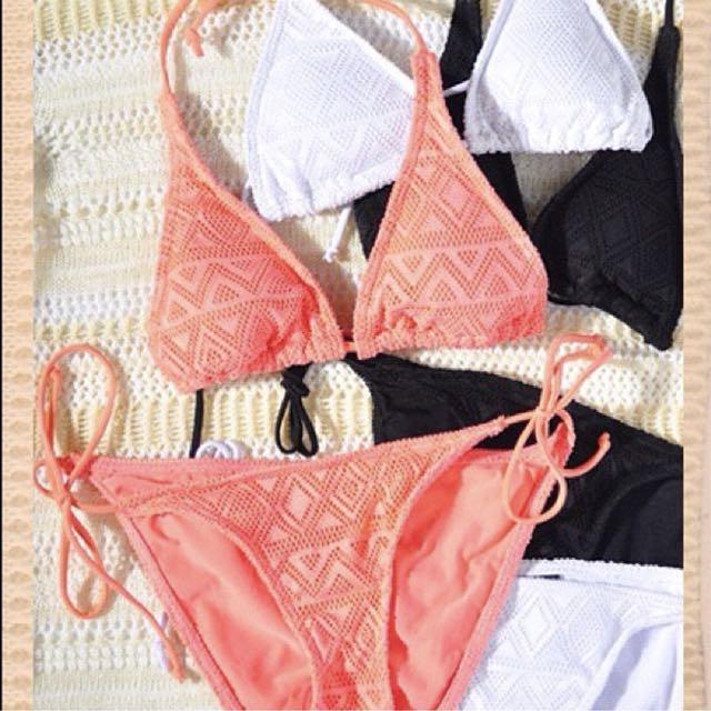 Love Bonito crochet bikini set