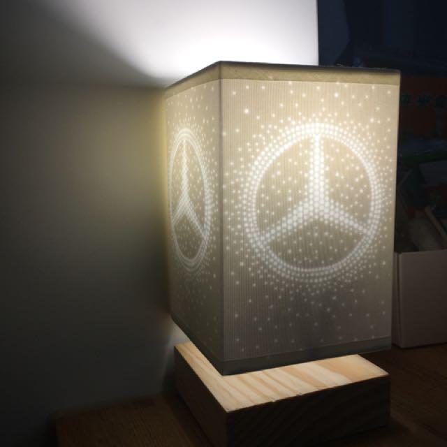 Mercedes-Benz 賓士原廠桌燈