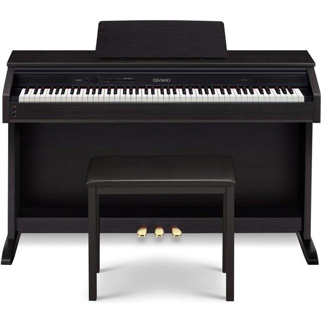 NEW - Casio AP250BK Digital Piano (Black)