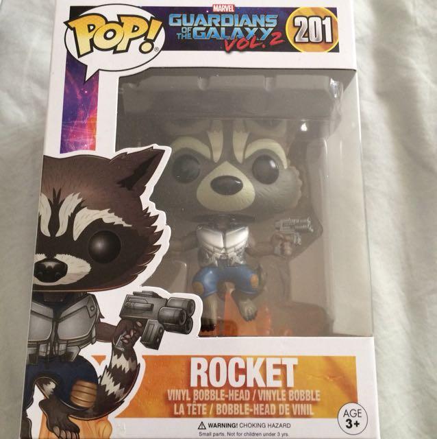 NEW Guardians of the Galaxy Vol.2 Rocket Pop! Vinyl