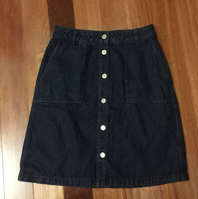 (NEW) ONLY denim skirt