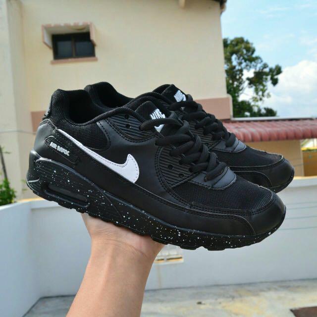 sports shoes 21e02 73881 ... nike air max 90 black oreo mens fashion footwear sneakers on carousell