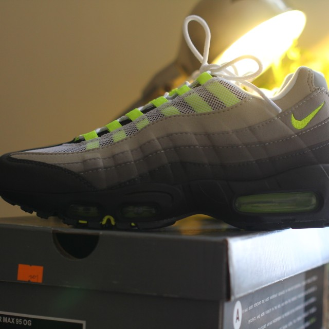 best sneakers 88c2a 80e56 Nike Air Max 95 Neon