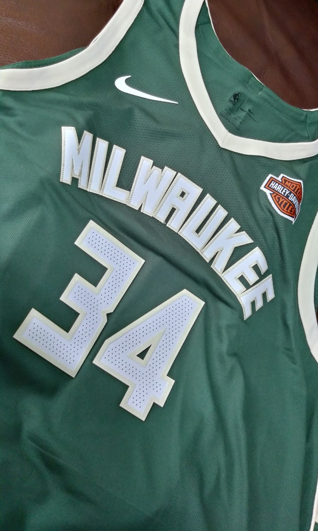 buy popular 11189 d154d Nike Giannis Antetokounmpo Icon Edition Authentic Milwaukee Bucks Jersey