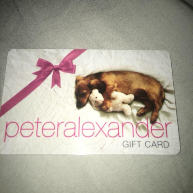 Peter Alexander Gift Card