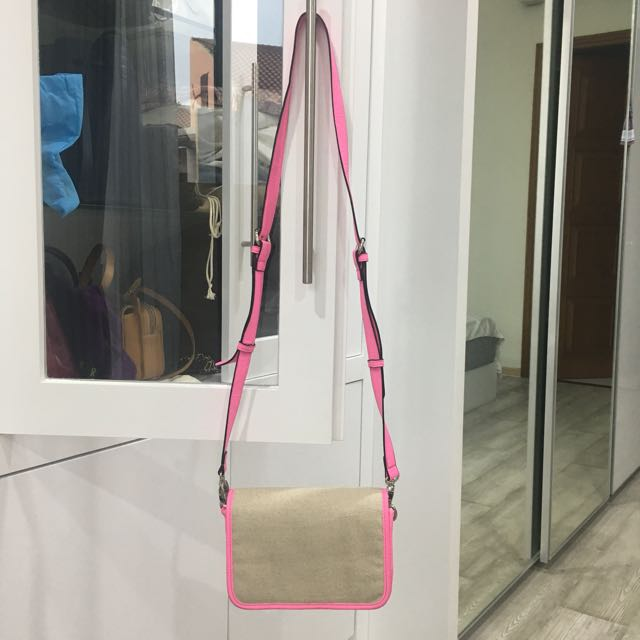 Pink Bag (Sling / Pouch Style)