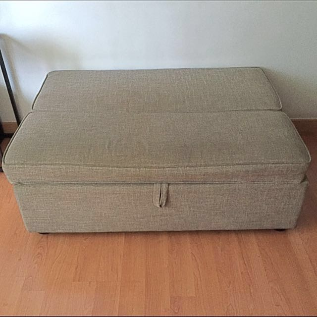 Pre Loved 2 seater Sofa Bed (Ottoman) Slightly NEGOTIABLE