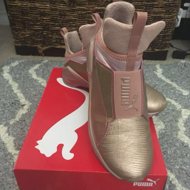 Puma Fierce Rose Gold Shoes