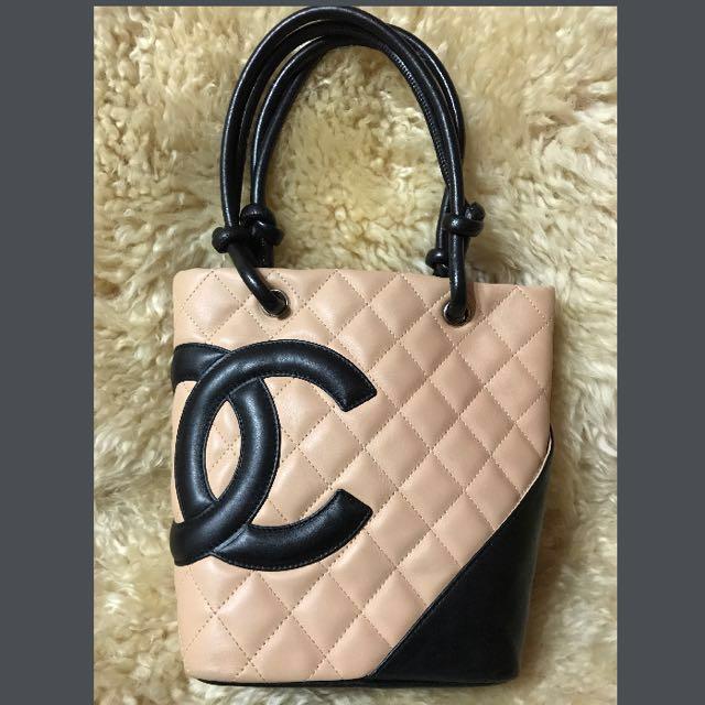 839353f2c068 REDUCED price!! Authentic Chanel Cambon Tote Small In Beige Colour ...