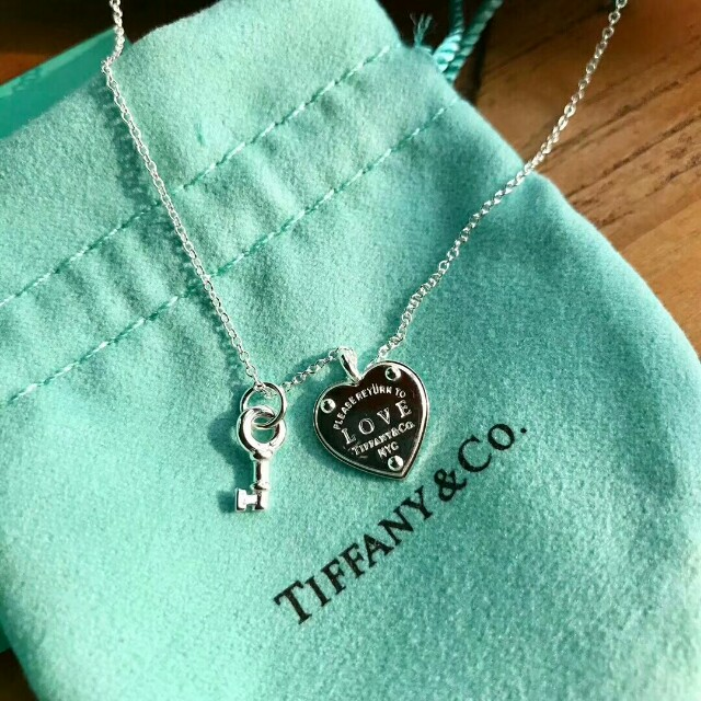 296bf1927 Tiffany Blue Key Pendant Design Ideas. Tiffany Sterling Silver Return To Heart  Tag ...