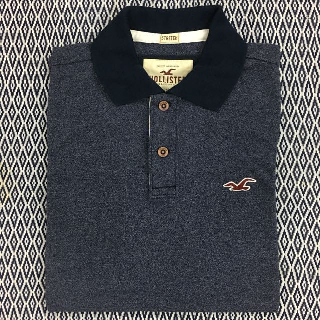 (S, L) Authentic Hollister Polo Tee