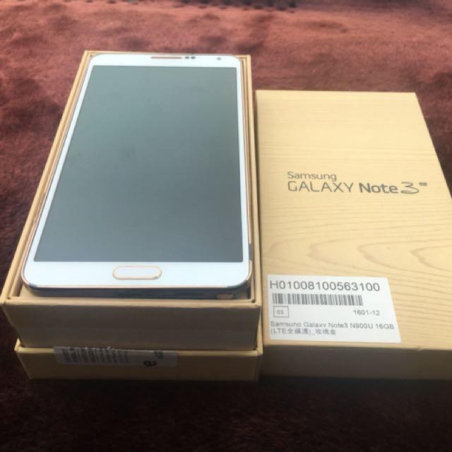 Samsung note3 n900u
