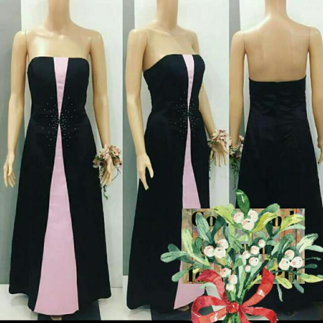 Simple A Cut Gown for Party and Prom