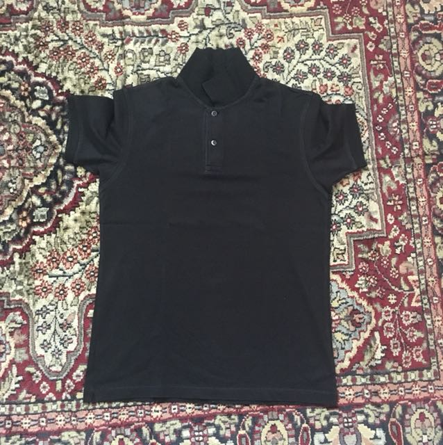 Small black polo shirt