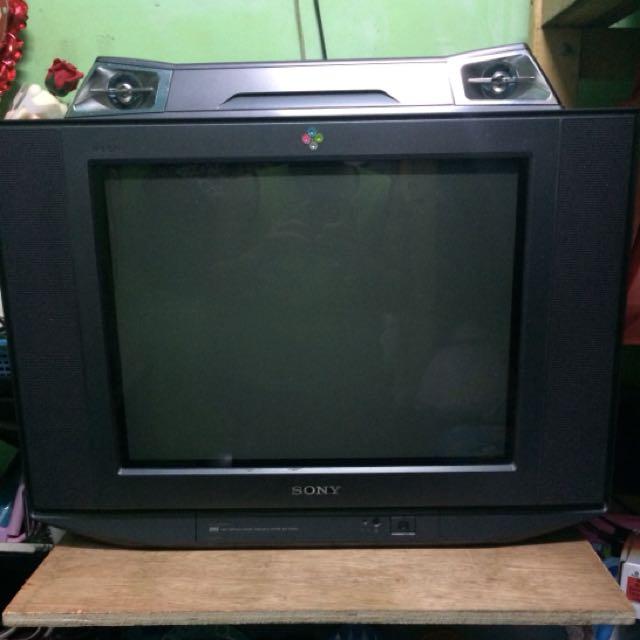 sony wega trinitron with sterio electronics tvs entertainment