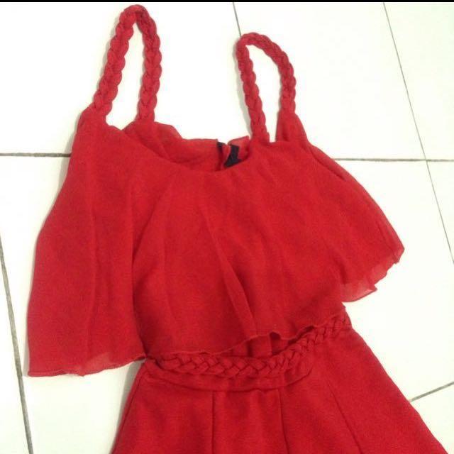 Spaghetti dress, jumpsuits