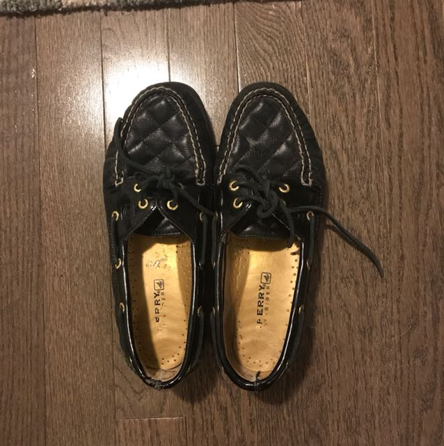 Sperry topsliders -leather