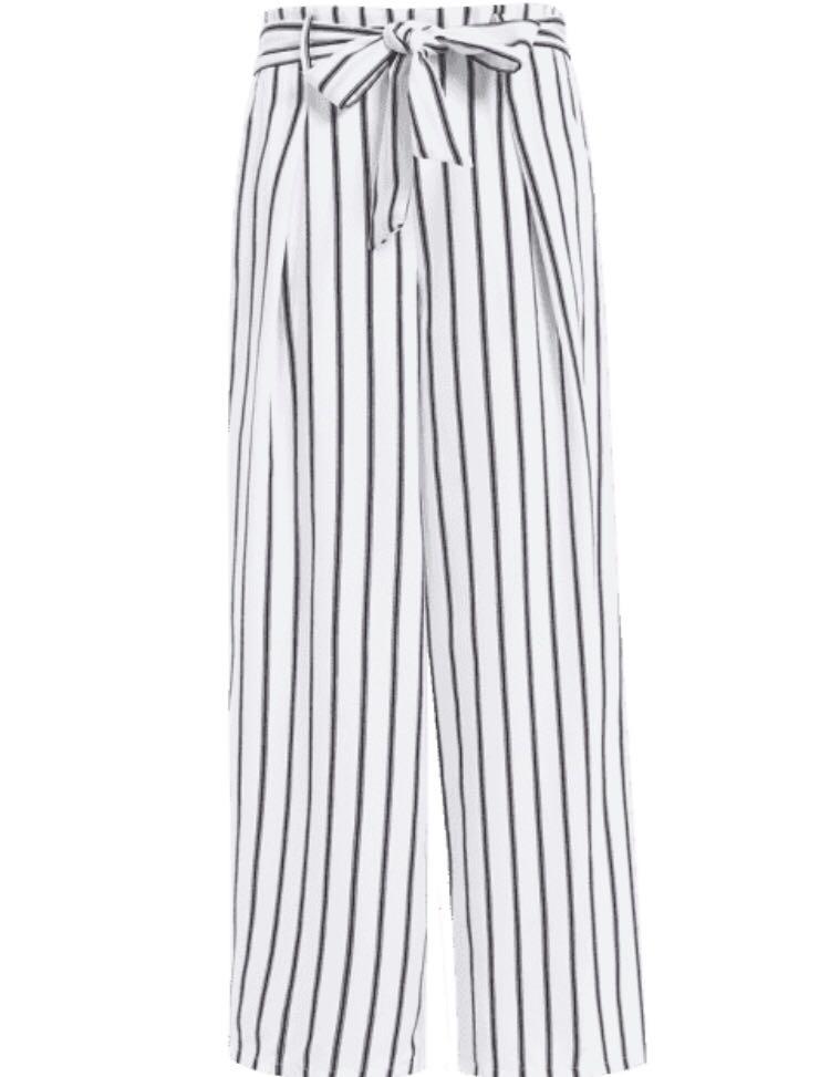 Striped pants!