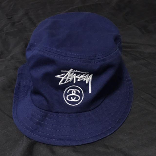 Stussy Navy Bucket Hat e8997a7be14