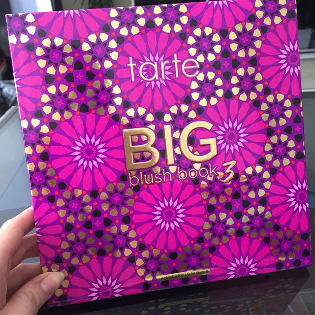 Tarte BIG Blush Book 3