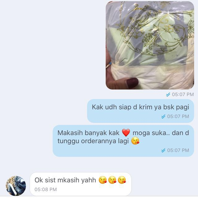 Testimony ❤️thank you for shopping 😘