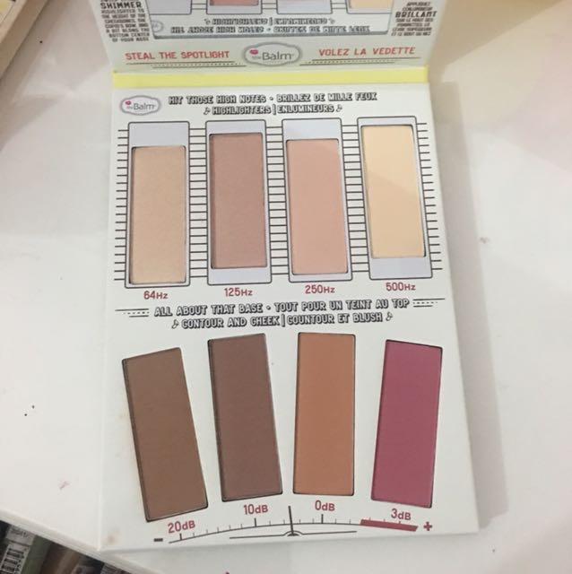 The Balm - contour and highlight