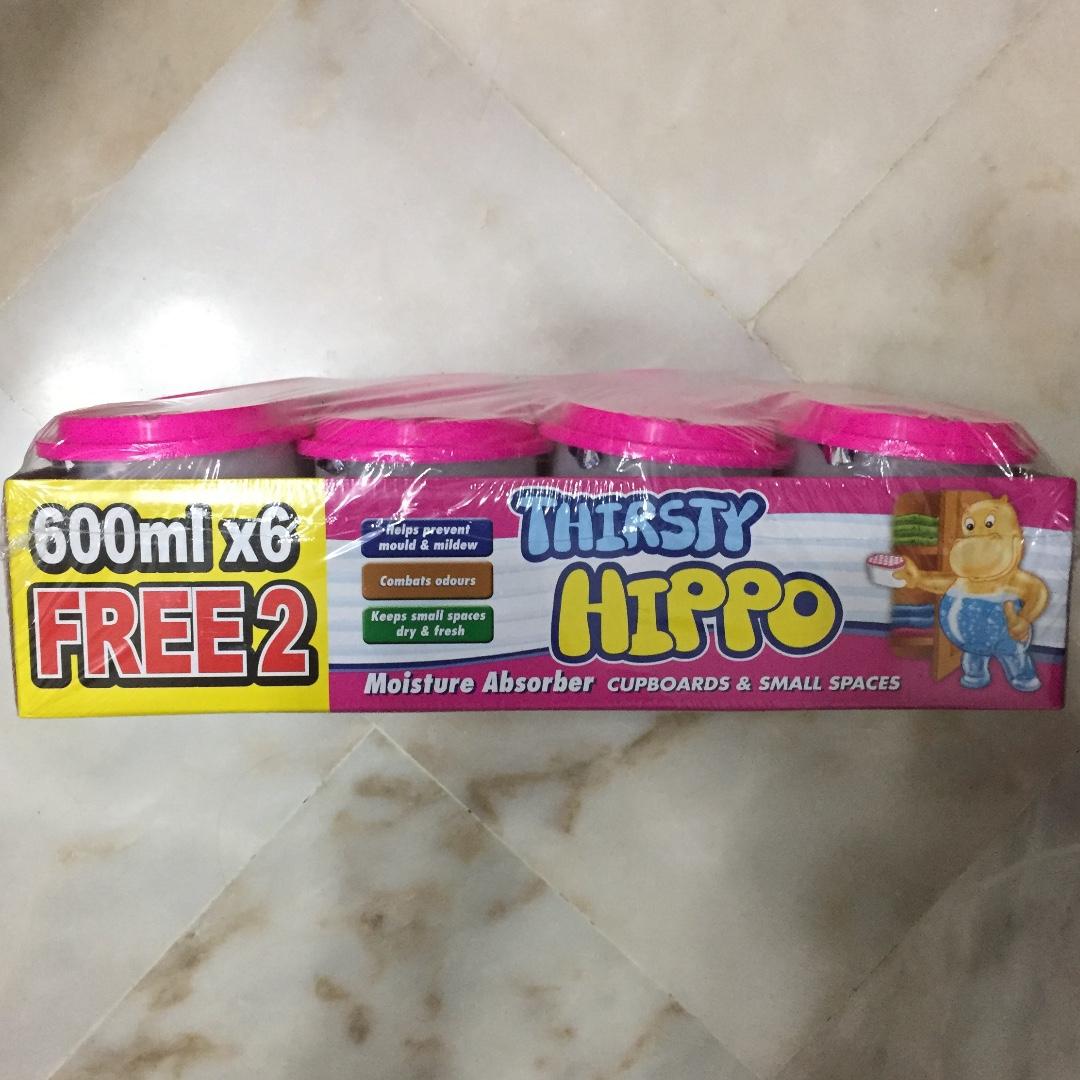 Thirsty Hippo Moisture Absorber, 8X 600ml